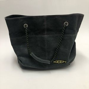 Keen Gray Canvas Tote Bag